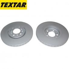 Спирачен диск преден Ф288х25 5/100 Textar