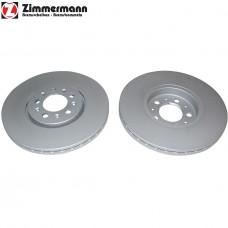 Спирачен диск преден Ф288х25 5/100 Zimmermann