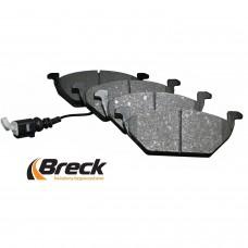 Накладки предни с датчик за спирачен диск Ф256/Ф280 Breck