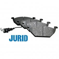 Накладки предни с датчик за спирачен диск Ф256/Ф280 Jurid