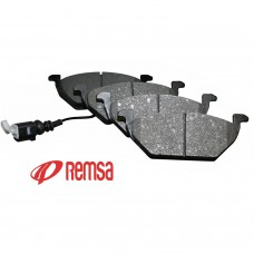 Накладки предни с датчик за спирачен диск Ф256/Ф280 Remsa