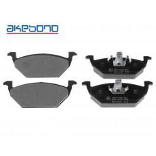 Накладки предни без датчик за спирачен диск Ф256/Ф280 Akebono