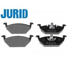 Накладки предни без датчик за спирачен диск Ф256/Ф280 Jurid