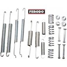 Пружини + закрепване задни накладки комплект Octavia Roomster Ferodo