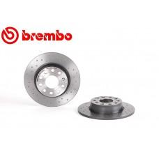Спирачен диск заден Ф272х10 5/112 Brembo вентилиран