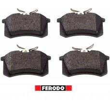 Накладки задни 1K0698451J Ferodo