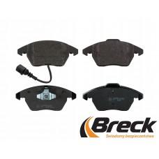 Накладки предни с датчик за спирачен диск Ф288/Ф312 Breck
