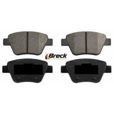 Накладки задни за спирачен диск Ф272 Breck