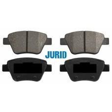 Накладки задни за спирачен диск Ф272 Jurid