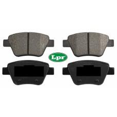 Накладки задни за спирачен диск Ф272 LPR
