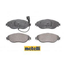 Накладки предни за спирачен диск Ф314мм и Ф340мм Metelli