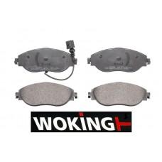 Накладки предни за спирачен диск Ф314мм и Ф340мм Woking