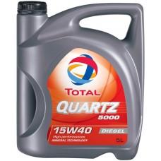 Total Quartz 5000 Diesel 15w40 5L